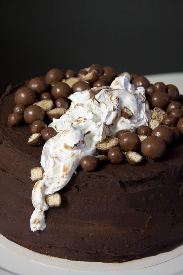 Stout-suklaakakku