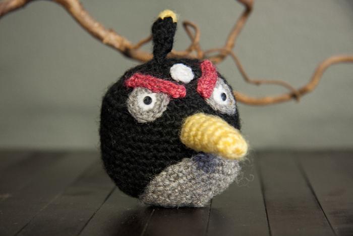 Angry Birds -amigurumi
